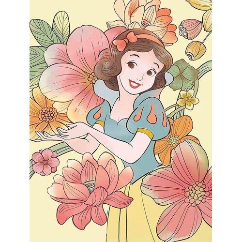 Komar XXL Poster »Snow White Flowers«, bunt