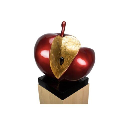 KUNSTLOFT Dekofigur »Evas Apfel«, handgefertigte Figur aus Kunststein