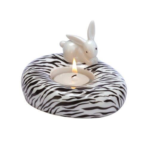 Goebel Teelichthalter »Zebra Bunny - Teelichthalter Bunny de luxe«