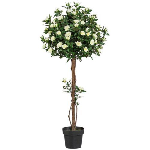 Creativ green Kunstpflanze »Rosenkugelbaum«, , Höhe 130 cm