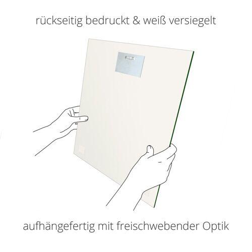 Artland Glasbild »Märzenbecher und Hofstaat«, Blumen (1 Stück)