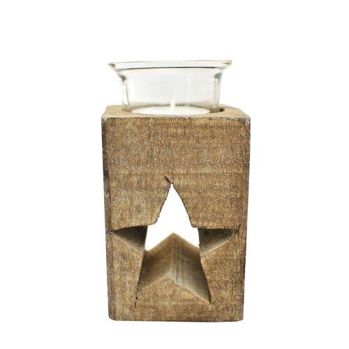 HTI-Line Teelichthalter »Teelichthalter Stern«