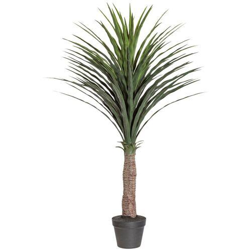 Creativ green Kunstpalme »Palme Yucca« Palme, , Höhe 115 cm, im Kunststofftopf