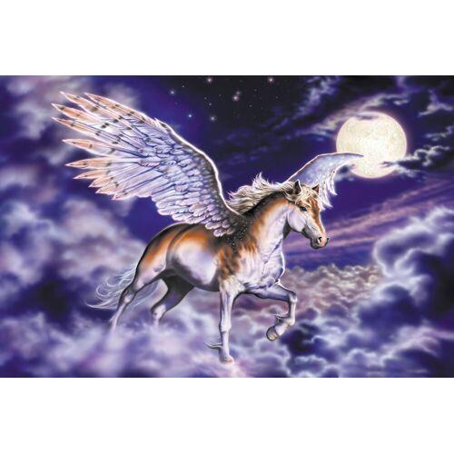 Papermoon Fototapete »Pegasus«, matt, BlueBack, 7 Bahnen, 350 x 260 cm