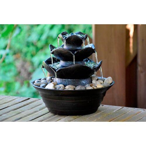 dobar Zimmerbrunnen BxTxH: 22,2x22,2x20,6 cm, schwarz