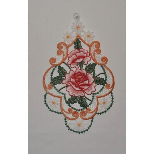 Stickereien Plauen Fensterbild »Rosen«