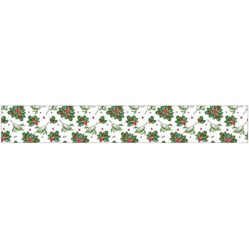 MySpotti Fensterfolie »look Felice«, 200 x 30 cm, statisch haftend, grün/rot