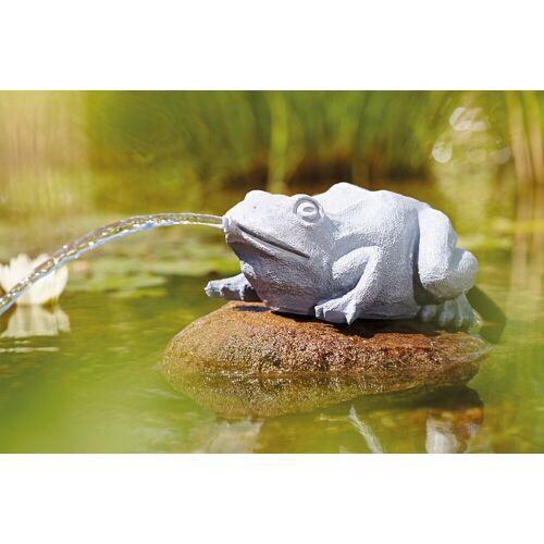 OASE Wasserspiel , Wasserspeier Frosch, grau