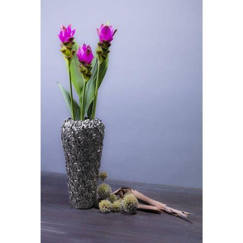 KARE Dekovase »Vase Rose Multi Chrom Small«