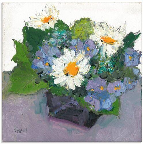 Artland Glasbild »Gepflanzte Blume II«, Blumen (1 Stück)