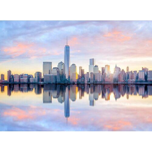 living walls Fototapete »Designwalls Skyline New York 1«, glatt, (5 St)