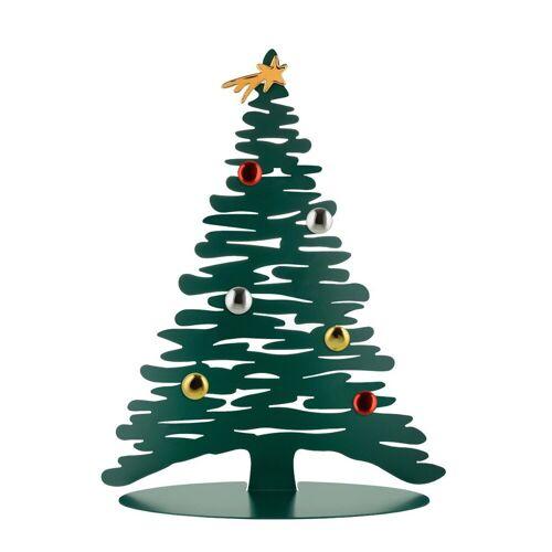 Alessi Weihnachtsfigur »Weihnachtsbaum Stahl, grün 45 cm«