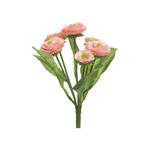 VBS Kunstblume »Bellis Tausendschön«, , 20 cm, Pink