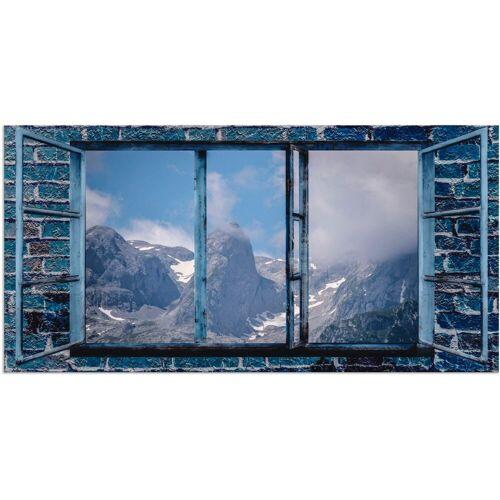 Artland Wandbild »Fensterblick - Hochkönig«, Fensterblick (1 Stück)