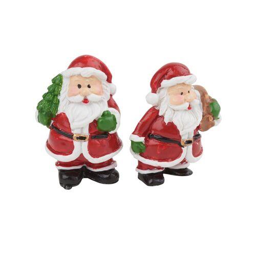 VBS Dekofigur »Weihnachtsmann Wido«, 2 Stück