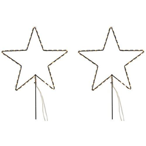 AM Design LED Stern »3 Sterne«, Gartenstecker