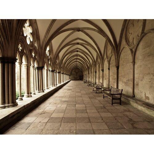 Papermoon Fototapete »Cathedral Archway«, Vlies, in verschiedenen Größen, bunt