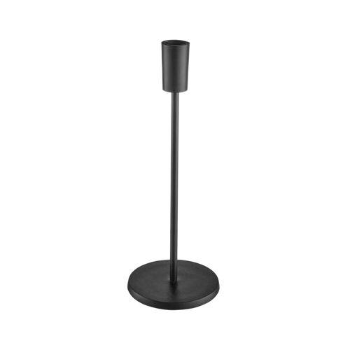 BUTLERS Kerzenhalter »HIGHLIGHT Kerzenhalter Höhe 29cm«, Schwarz