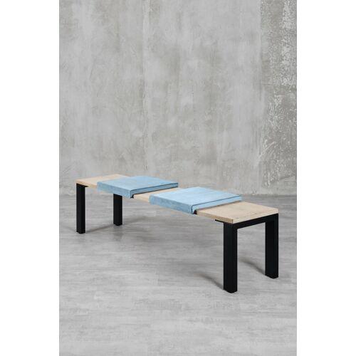 carla&marge Sitzkissen »Klemmkissen Sense«, Sitzkissen Sense (2er Set), Ice Blue