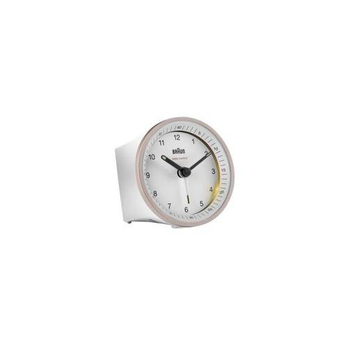 Braun Wecker »BC07PW-DCF 67099, weiß, Wecker, Leuchtzeiger, Funkwecker, Ziffernblatt«