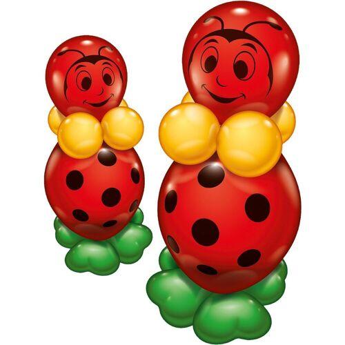 Karaloon Airwalker-Ballons »Ballonset Glückskäfer, 2 Stück«, rot/grün