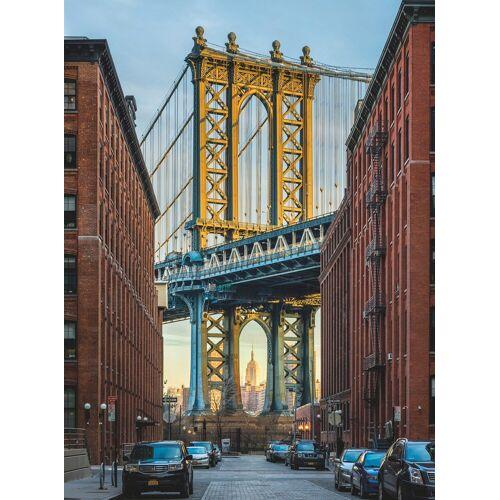 Komar Fototapete »Brooklyn«, (2 St)