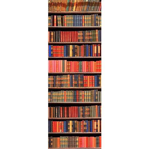 living walls Fototapete »historische Bibliothek«, glatt, (1 St), FSC®