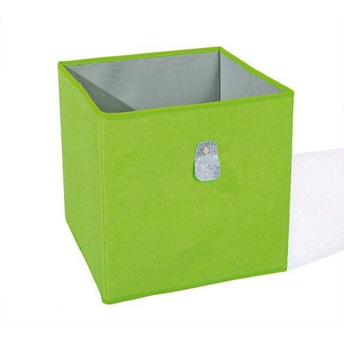 Inter Link Aufbewahrungsbox »Aufbewahrungsbox, grün/grau«, grün/grau