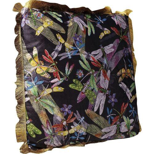 KARE Dekokissen »Kissen Tropical Garden Fringe 45x45cm«