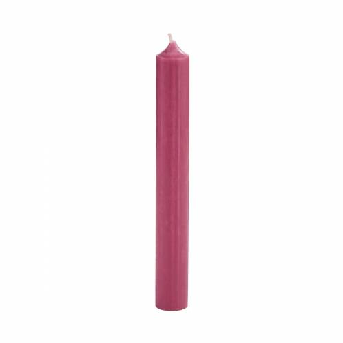 BUTLERS Formkerze »RAINBOW 10x Stabkerze«, Rosé