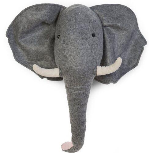 CHILDHOME Wanddekoobjekt »Wanddeko Elefant, 3D«