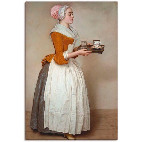 Artland Wandbild »Das Schokoladenmädchen. Um 1744/45«, Frau (1 Stück)