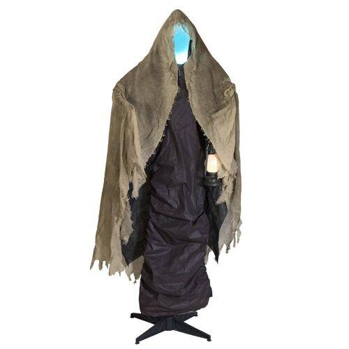 EUROPALMS Dekofigur »DER TOD - lebensgroße Halloween-Gruselfigur - 165cm - Lichteffekte und Geräusche - Sensoraktivierung«