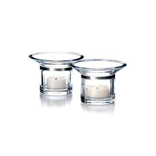 Rosendahl Teelichthalter »Teelichthalter GRAND CRU, 2er Set«, Durchmesser unten 6.5 cm, oben 10.6 cm