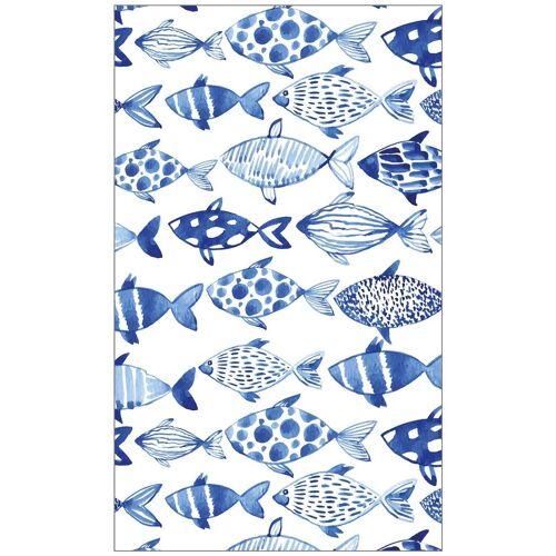 MySpotti Fensterfolie »look Shoal«, 60 x 100 cm, statisch haftend, weiß/blau