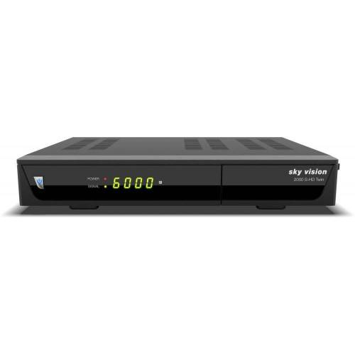 Sky Vision »Vision 2000 S-HD Twin Sat-Receiver« SAT-Receiver