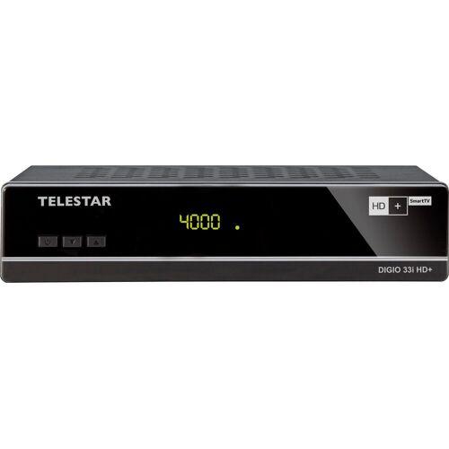 TELESTAR »DIGIO 33i HD+« Satellitenreceiver (LAN (Ethernet)