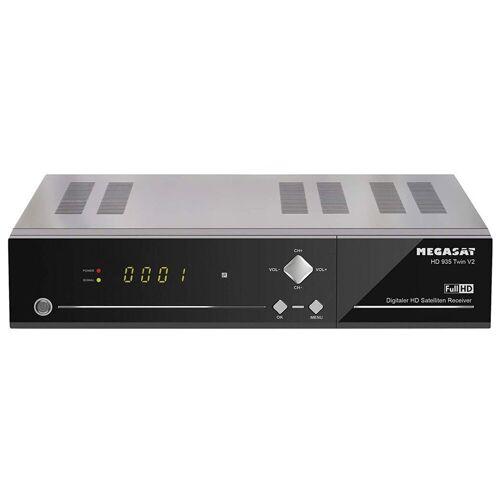 MegaSat »HD 935 Twin V2 HD-Sat-Receiver sw« SAT-Receiver