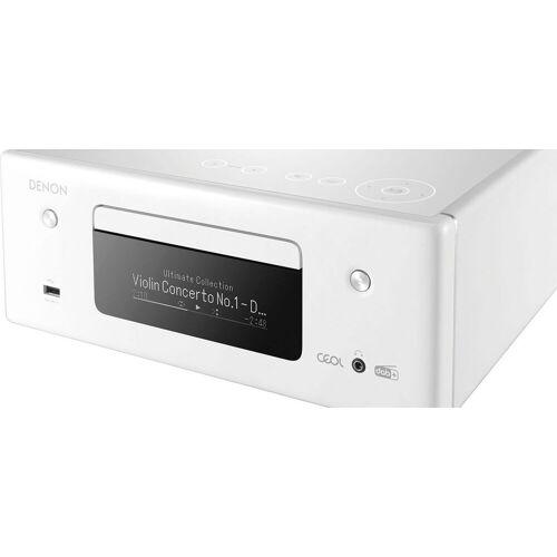 Denon »RCD-N11DAB« Audio-Receiver (Bluetooth, LAN (Ethernet), WLAN), weiß