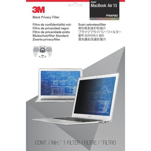 3M PFMA13 Blickschutz Apple MacBook Air »für Notbook 33 cm (13)«, schwarz