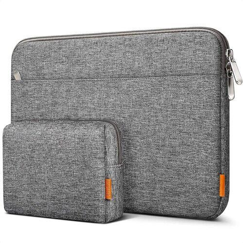 Inateck Laptop-Hülle »14 Zoll Laptoptasche für 14 Zoll Laptops, 15 Zoll MacBook Pro 2016-2019«, Grau
