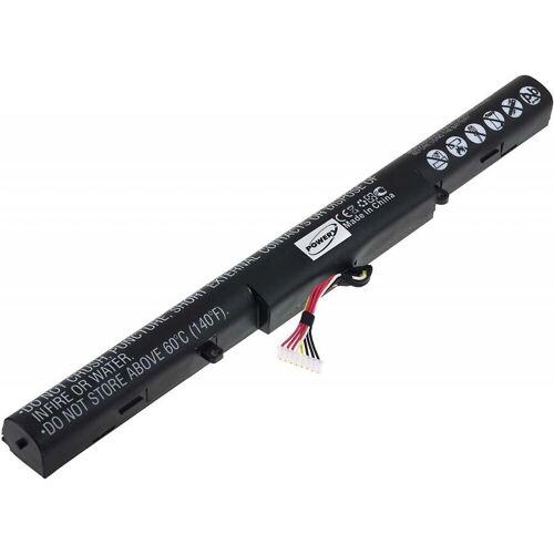 Powery »Akku für Laptop Asus R751L« Laptop-Akku 2900 mAh (14.4 V)