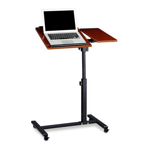 relaxdays Laptoptisch »Laptoptisch mit verstellbarem Mauspad«, Rot