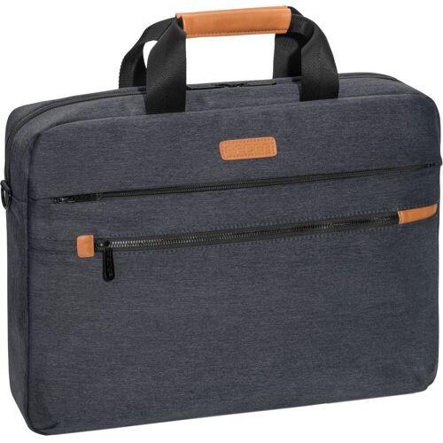 """PEDEA Notebooktasche »Notebooktasche """"ELEGANCE"""" Pro 17,3"""" (43,9cm)«, Grau"""