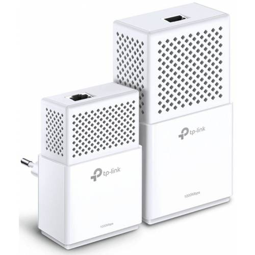 TP-Link Powerline »TL-WPA7510 KIT AV1000 WLAN AC (1 x LAN)«, Weiß