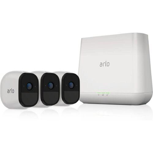 ARLO Pro2 Sicherheitsystem mit 3 Kameras »Sicherheitssystem mit 3 Wire-Free HD-Kameras«, weiß