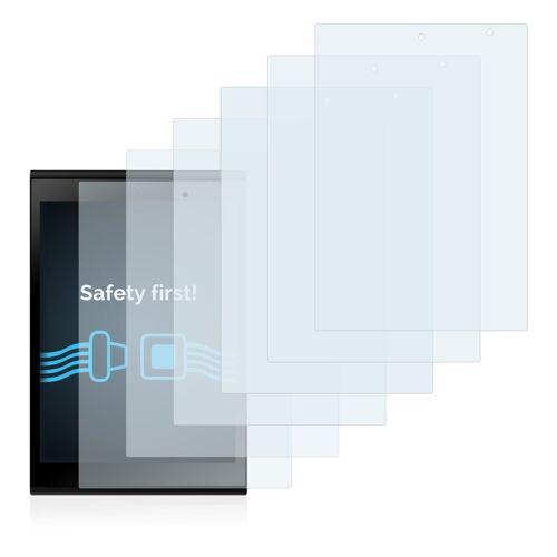 Savvies Schutzfolie »für Jolla Tablet«, (6 Stück), Folie Schutzfolie klar