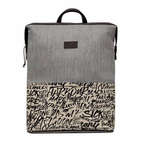 DOGO Laptoptasche »Fonts in Splash«, Vegan