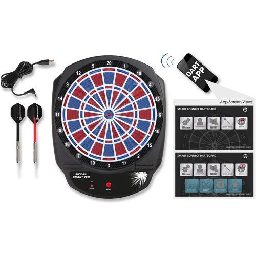 Sunflex Dartscheibe »SMART TEC«, (Packung, mit Dartpfeilen), Bluetooth gesteuerte, elektronische Dartscheibe