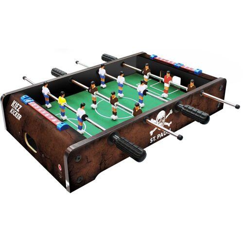 Carromco Tischfußballspiel »St. Pauli - Kiez Kicker im Bierkastenformat«, passend für Getränkekästen 40/30 cm